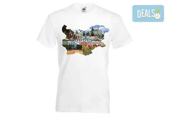 Тениски с индивидуален дизайн - снимка или картинка по избор на клиента, от Хартиен свят! - Снимка 2