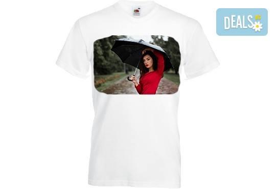 Тениски с индивидуален дизайн - снимка или картинка по избор на клиента, от Хартиен свят! - Снимка 3