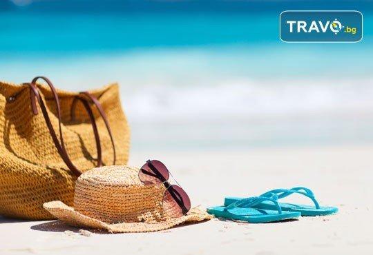 На плаж в Ставрос, Гърция, за 1 ден през лятото! Транспорт с дневен или нощен преход, водач и включена медицинска застраховка от Глобус Турс! - Снимка 1