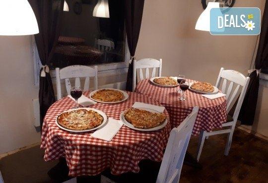 Апетитно и изгодно предложение! Вземете вкусна пица по Ваш избор oт Hubi-Brothers в Княжево! - Снимка 8