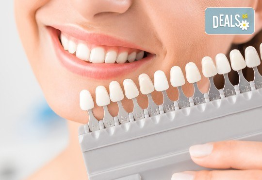 Професионално домашно избелване на зъби с индивидуални шини, профилактичен преглед, ултразвуково почистване на плака и зъбен камък в Deckoff Dental! - Снимка 1