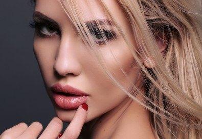 Поставяне на 1мл. висококачествен френски филър на устни или назолабиални гънки в Deckoff Dental! - Снимка