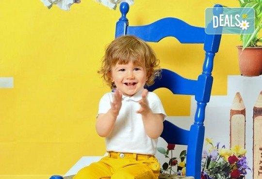 Красиви мигове! Студийна фотосесия за дете или цялото семейство и подарък: фотокнига от Photosesia.com! - Снимка 1