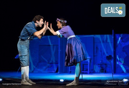 На театър с децата! Гледайте новата приказка Хензел и Гретел на 29.06. или 30.06. от 11 ч. в Младежки театър, голяма сцена! Билет за един - Снимка 1
