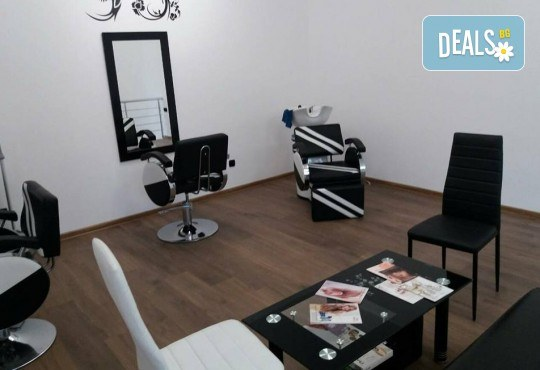 Терапия според нуждите на косата, оформяне със сешоар и стилизиране на прическа в салон Bibi Fashion! - Снимка 5