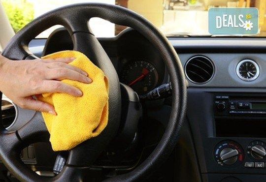 Цялостно външно и вътрешно почистване на лек автомобил и полиране на фарове в Автоцентър NON-STOP в Красно село! - Снимка 4