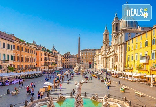 Самолетна екскурзия до Рим, през юли и август, със Z Tour! 3 нощувки със закуски в хотел 2*, трансфери, самолетен билет с летищни такси - Снимка 11