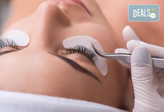 Еднодневен курс по миглопластика - обемна техника и косъм по косъм, в NSB Beauty Center! - Снимка 1