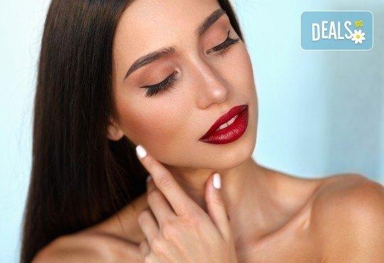 Еднодневен курс по ултразвуково уголемяване на устни и попълване на бръчки с хиалурон в NSB Beauty Center! - Снимка 1