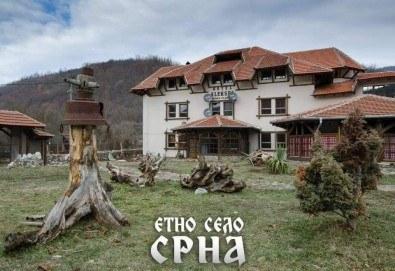 Уикенд разходка и купон по сръбски в Етно село Срна, Сърбия! 1 нощувка със закуска, вечеря с жива музика и напитки, транспорт и посещение на Темския манастир - Снимка