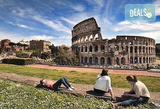 Есенна екскурзия до Рим, със Z Tour! Самолетен билет, трансфери, 3 нощувки със закуски в хотел 2*. Индивидуално пътуване! - Снимка 1