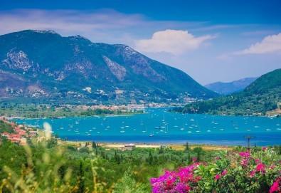 Мини почивка на приказния остров Лефкада, Гърция, през август! 3 нощувки със закуски, транспорт и посещение на плажа Агиос Йоаннис с вятърните мелници! - Снимка