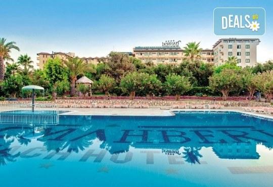 Почивка през септември в MC Mahberi Beach 4*, Алания, Турция! 7 нощувки на база All Inclusive, възможност за организиран транспорт! - Снимка 1