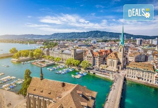 Екскурзия Чудесата на Швейцария през август! 4 нощувки със закуски, транспорт, екскурзовод, посещение на Женева, Берн, Цюрих, Монтрьо, Залцбург и Вадуц! - Снимка 3