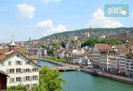 Екскурзия Чудесата на Швейцария през август! 4 нощувки със закуски, транспорт, екскурзовод, посещение на Женева, Берн, Цюрих, Монтрьо, Залцбург и Вадуц! - Снимка 9