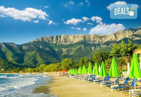 Мини почивка през септември на о. Тасос, Гърция: 2 нощувки и закуски, транспорт