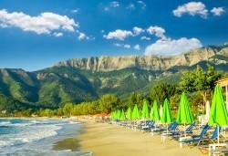 Мини почивка през септември на о. Тасос, Гърция! 2 нощувки със закуски и вечери в Hotel Ellas 2*, транспорт, екскурзовод и посещение на Golden Beach! - Снимка