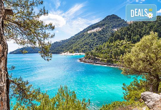 Мини почивка през септември на о. Тасос, Гърция! 2 нощувки със закуски и вечери в Hotel Ellas 2*, транспорт, екскурзовод и посещение на Golden Beach! - Снимка 2