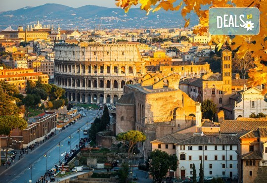 Октомври до Рим, Венеция и Загреб: 4 нощувки, закуски, транспорт и екскурзовод