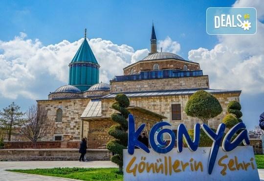 Вижте мистичната Кападокия през есента! Екскурзия с 5 нощувки с 5 закуски и 4 вечери, транспорт, посещение на Истанбул, Коня и Анкара, представител от Караджъ Турс! - Снимка 13