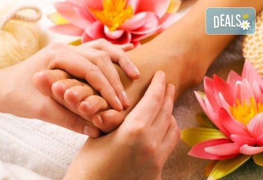 Релаксирайте за час с арома масаж на цяло тяло с нар + бонус: масаж на длани и ходила в студио GIRO! - Снимка 4