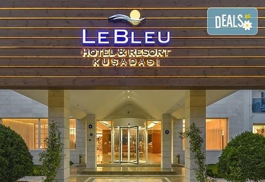 Почивка в Le Bleu Hotel & Resort 5*, Кушадасъ, с Глобус Холидейс! 5 или 7 нощувки на база Ultra All Inclusive, възможност за транспорт! - Снимка 4