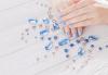 Поставяне на последно поколение основа - фибростъкло или каучукова база, която защитава и подхранва ноктите, маникюр с гел лак BlueSky, 2 декорации и масаж на ръцете в Женско Царство! - thumb 3