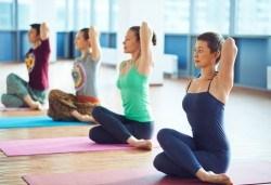 Хармония между тялото и душата! 3 посещения на йога практика при Стефка Димитровa в Dance Center Fantasia! - Снимка