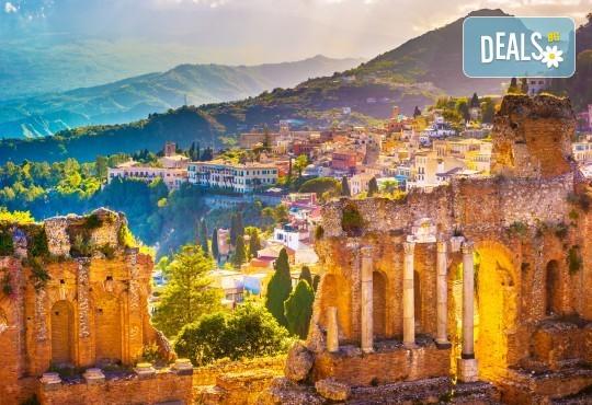 До Сицилия през есента: 4 нощувки със закуски и вечери, самолетен билет, водач и програма