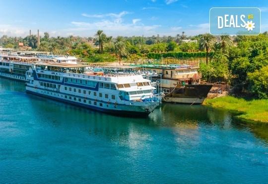 Есенна екзотика в Египет! 3 нощувки на база All Inclusive в хотел 5* в Хургада, 4 нощувки на база FB на круизен кораб 5*, самолетен билет, трансфери и богата програма! - Снимка 3