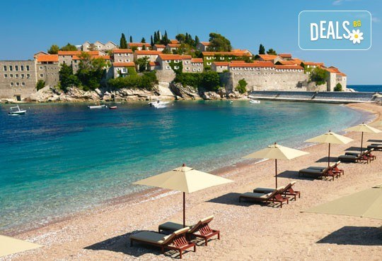 Екскурзия през август до Будва, с възможност да посетите Дубровник! 3 нощувки със закуски и вечери, транспорт и посещение на о. Св. Стефан - Снимка 1
