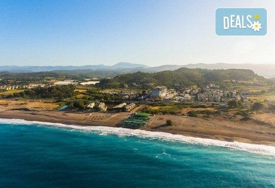 Почивка в Throne Beach Resort & SPA 5*, Сиде! 7 нощувки на база All Inclusive, ползване на басейни и СПА център, фитнес, шезлонг и чадър - Снимка 16