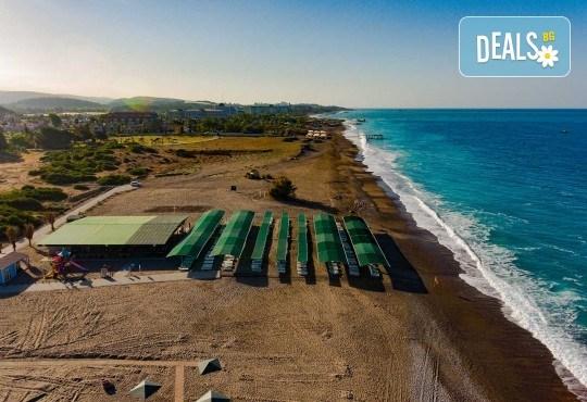 Почивка в Throne Beach Resort & SPA 5*, Сиде! 7 нощувки на база All Inclusive, ползване на басейни и СПА център, фитнес, шезлонг и чадър - Снимка 15