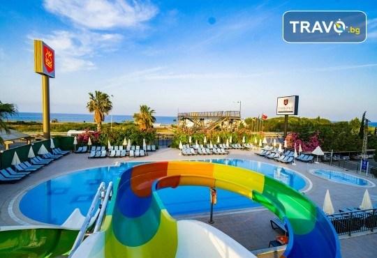 Почивка в Throne Beach Resort & SPA 5*, Сиде! 7 нощувки на база All Inclusive, ползване на басейни и СПА център, фитнес, шезлонг и чадър - Снимка 13