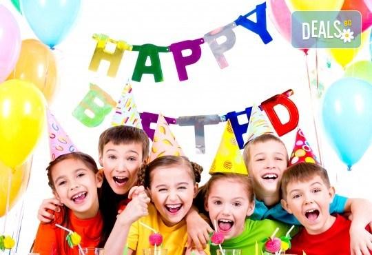 Детски рожден ден! Наем на зала 2 часа за парти, детски рожден ден с украса, парти музика, зала за възрастни и топли напитки в Детски център Пух и Прасчо в широкия център на София - Снимка 5