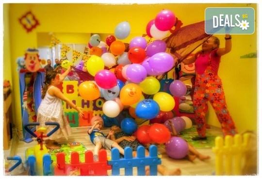 Детски рожден ден! Наем на зала 2 часа за парти, детски рожден ден с украса, парти музика, зала за възрастни и топли напитки в Детски център Пух и Прасчо в широкия център на София - Снимка 10