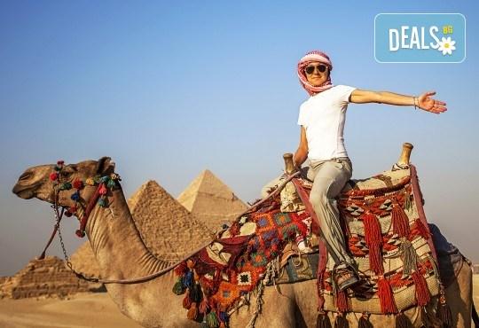 Есенна почивка в Египет! 6 нощувки в Lemon & Soul Garden Makadi 4* на база All Inclusive в Хургада и 1 нощувка със закуска в Barcelo Cairo Pyramids 4* в Кайро, самолетен билет и водач - Снимка 1