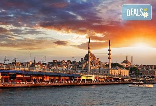 Екскурзия през есента до Истанбул: 2 нощувки и закуски, транспорт и посещение на Одрин