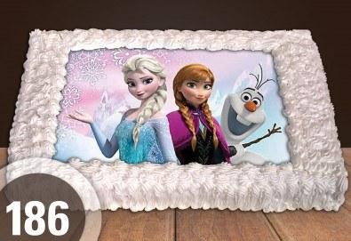 Торта за момичета! Красиви торти със снимкa с герои от любим филм за малки и големи госпожици от Сладкарница Джорджо Джани