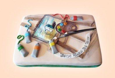 За музиканти! Торта за DJ, музиканти, певци, художници и артисти от Сладкарница Джорджо Джани! - Снимка