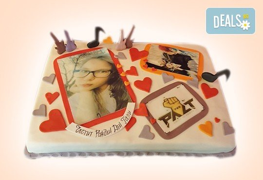 За музиканти! Торта за DJ, музиканти, певци, художници и артисти от Сладкарница Джорджо Джани - Снимка 11