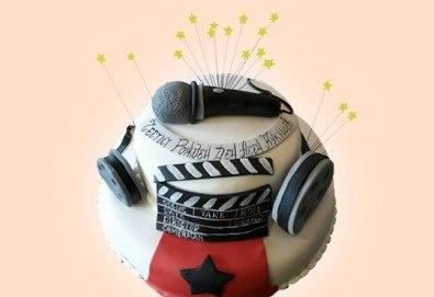 За музиканти! Торта за DJ, музиканти, певци, художници и артисти от Сладкарница Джорджо Джани