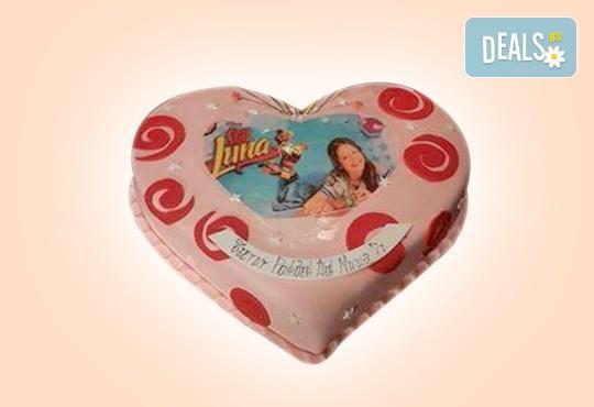 АМОРЕ! Подарете Торта Сърце по дизайн на Сладкарница Джорджо Джани - Снимка 1
