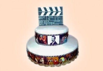 Торта за мъже с индивидуален дизайн и размери по избор от Сладкарница Джорджо Джани - Снимка