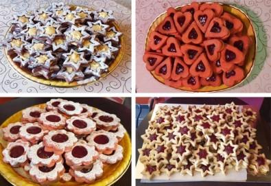 1 кг. домашни гръцки сладки! Седем различни вкуса сладки с шоколад, макадамия и кокос, майсторска изработка от Сладкарница Джорджо Джани - Снимка