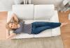 Пране на 6 седящи места на диван с професионални машини Karcher и препарати Sonax от фирма КИМИ - thumb 2
