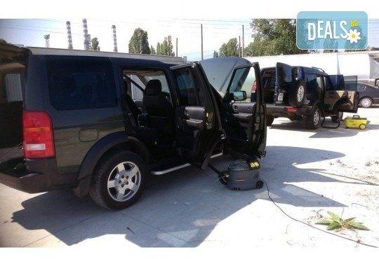 Пране на салон на лек автомобил - седалки, задглавници, подлакътници и под, от професионално почистване КИМИ! - Снимка 5