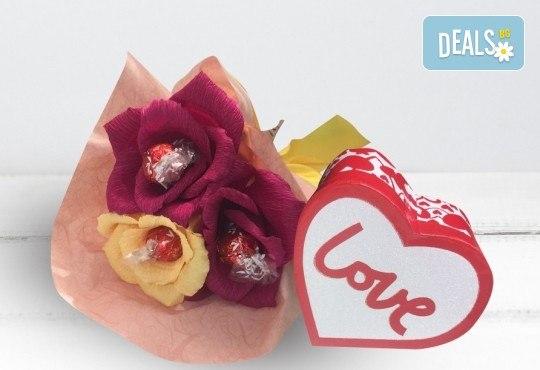 Подарете ръчно изработен букет с късмети, с тематика по избор и луксозен бонбон от Онлайн магазин за подаръци Банана! - Снимка 5