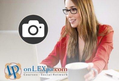 Превърнете хобито си професия! Oнлайн курс по фотография, IQ тест и сертификат с намаление от www.onLEXpa.com! - Снимка