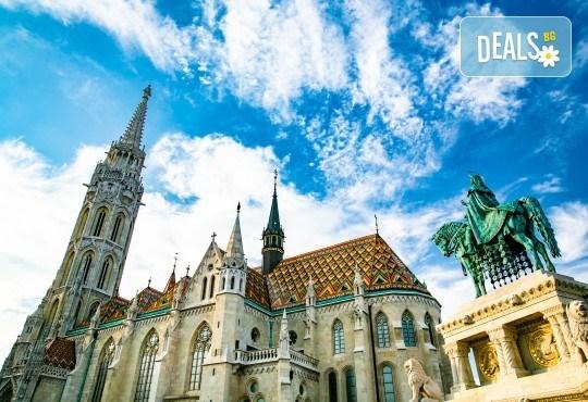 Октомври в Будапеща, Виена и Братислава: 3 нощувки и закуски, смесен транспорт